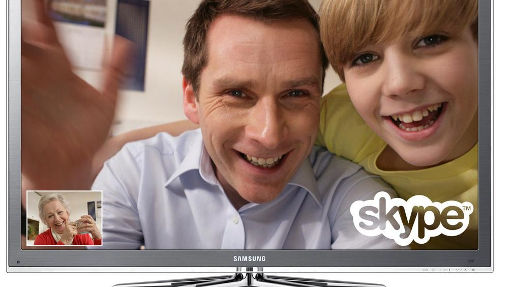 Skype på TV-en brer om seg