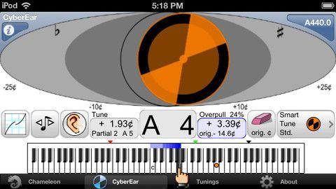 CyberTuner koster 7000 kroner, og er beregnet på profesjonelle pianostemmere.