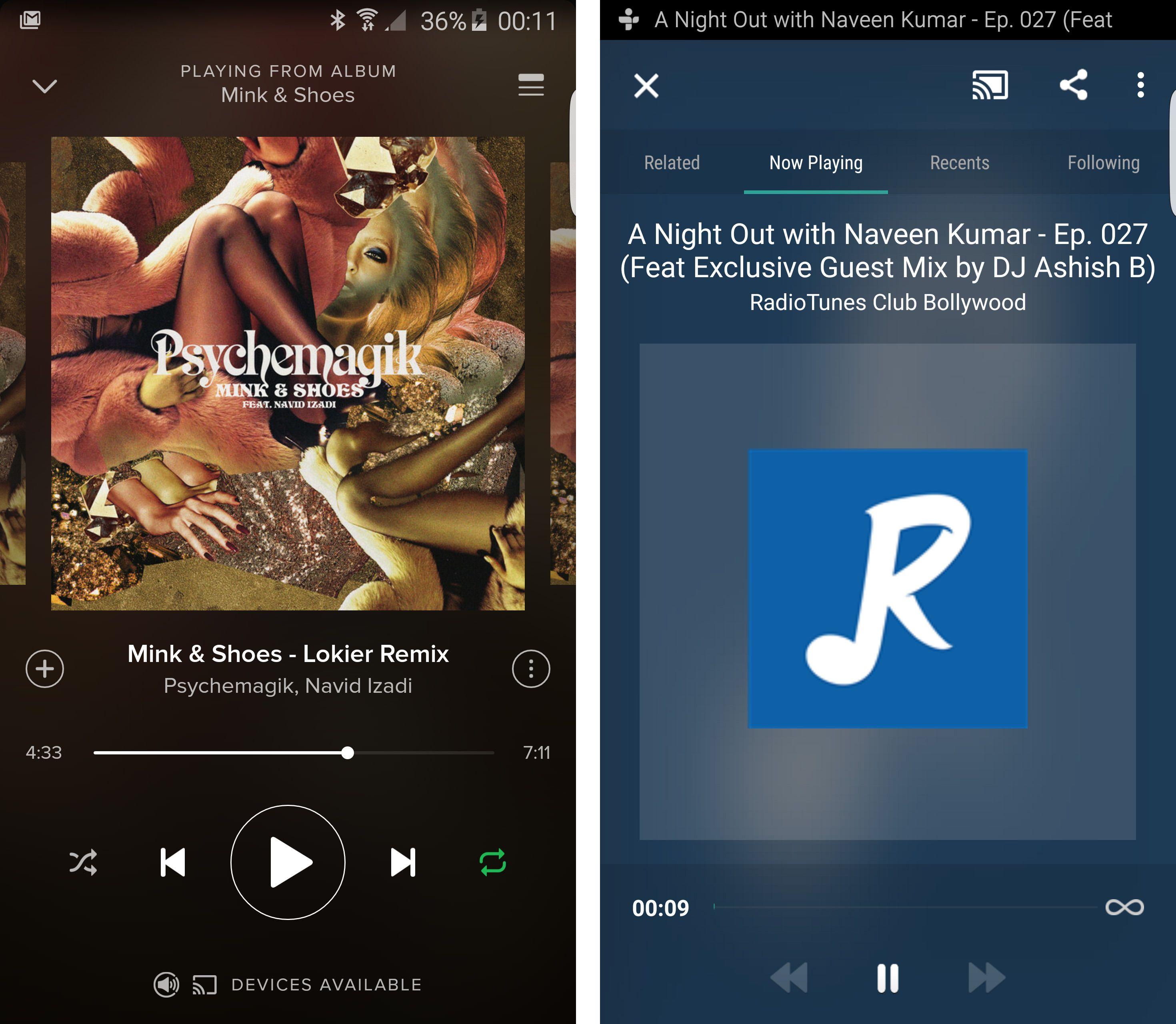 Spotify og TuneIn Radio er to av de mer populære appene som støtter Chromecast Audio. Foto: Finn Jarle Kvalheim, Tek.no