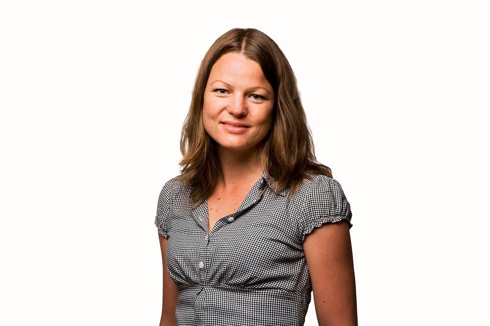 Kommunikasjonsrådgiver Charlotte Erikstad i NetCom sier at de ikke skal skru ned hastigheten for eksisterende kunder likevel.jpg.