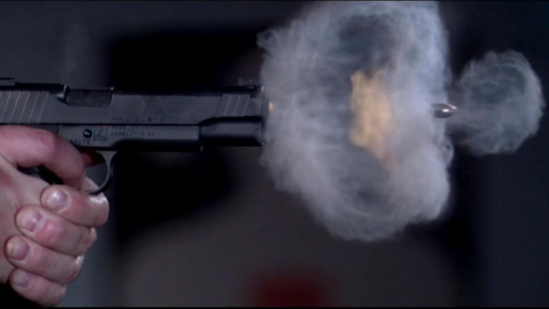 Slik ser et pistolskudd egentlig ut