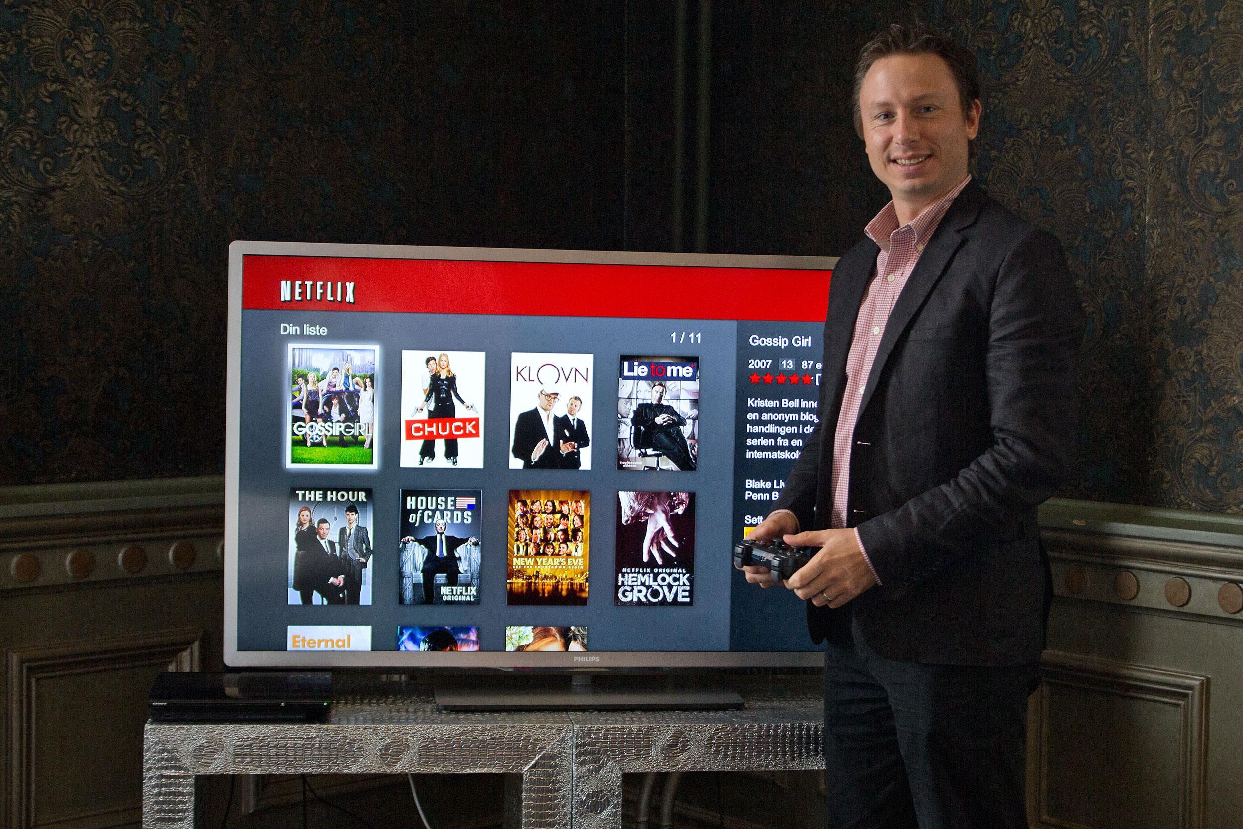 Joris Evers, kommunikasjonsdirektør i Netflix, har tidligere fortalt oss at de ikke egentlig tillater bruk av VPN for å utvide biblioteket – på grunn av krav om restriksjoner fra de som eier filmrettighetene.Foto: Varg Aamo, Hardware.no