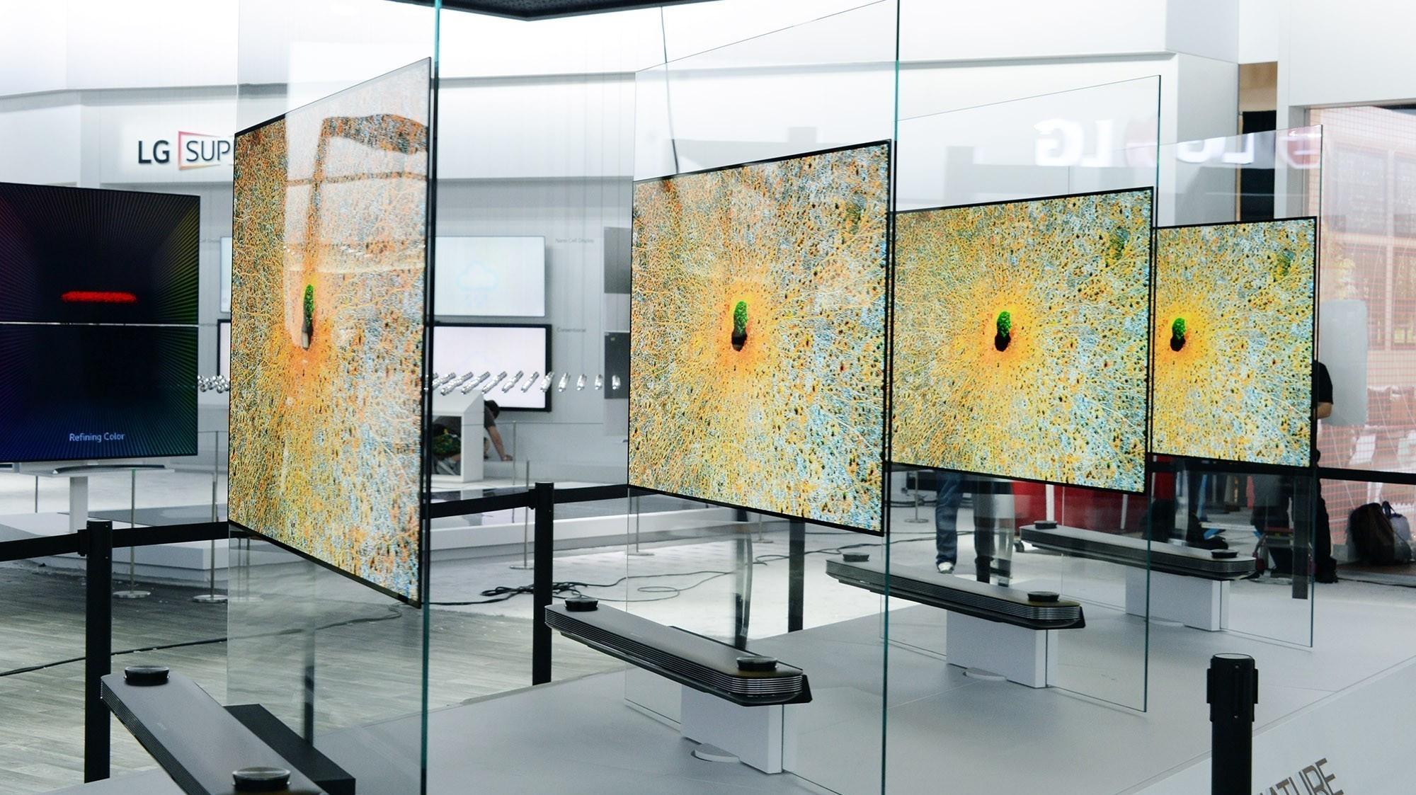 LGs nye TV-er ser ut som bilder du henger på veggen