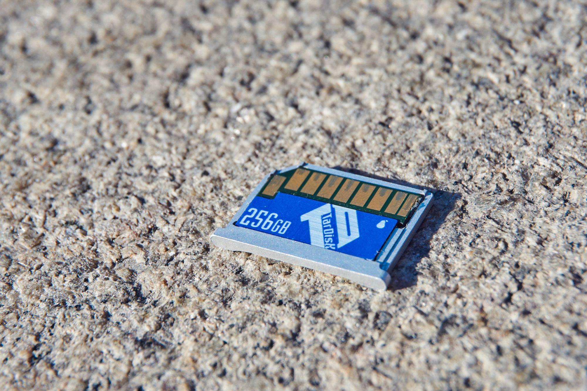 256 GB ekstra er ikke til å kimse av, og hastigheten er det heller ingenting å si på.