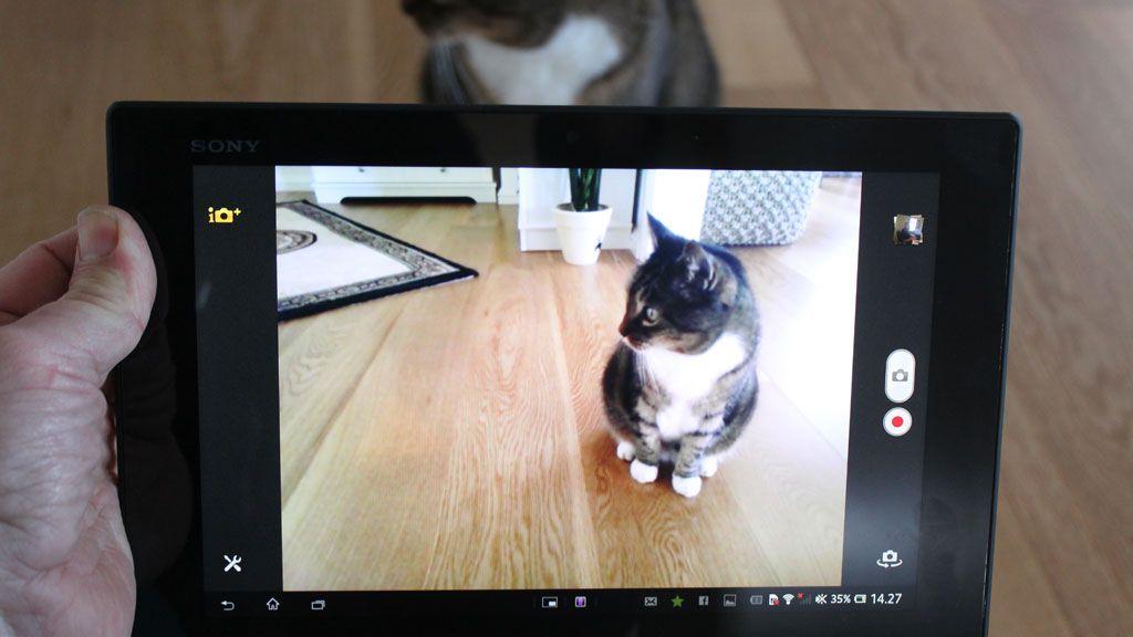 Kameraet har en rekke avanserte muligheter.Foto: Espen Irwing Swang, Amobil.no