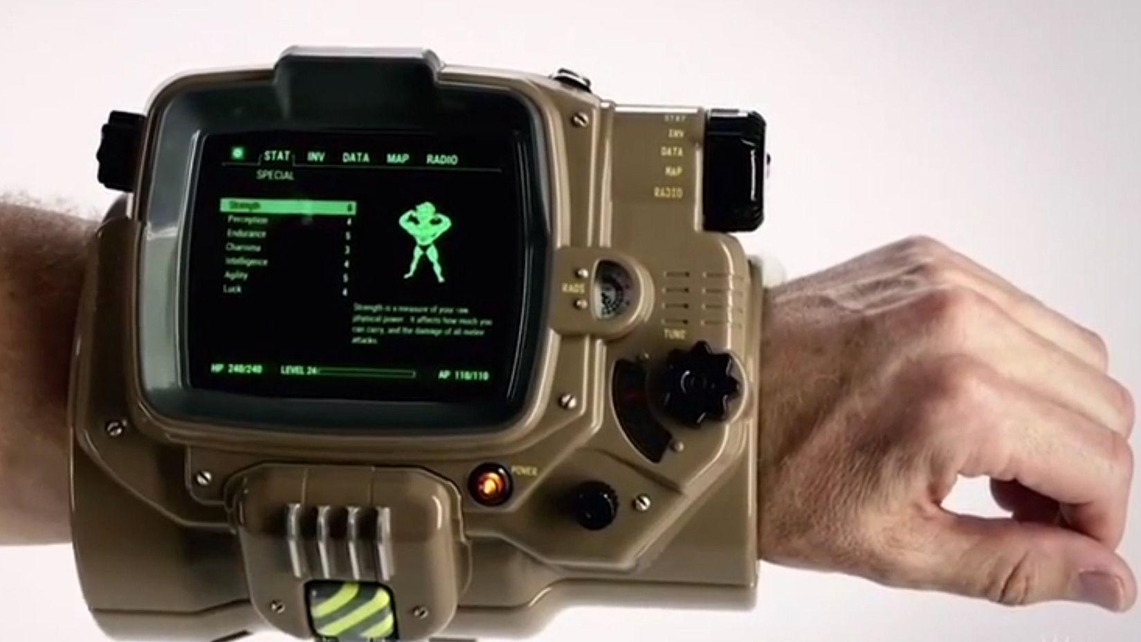 Glem Apple Watch, hva med en Pip-Boy?