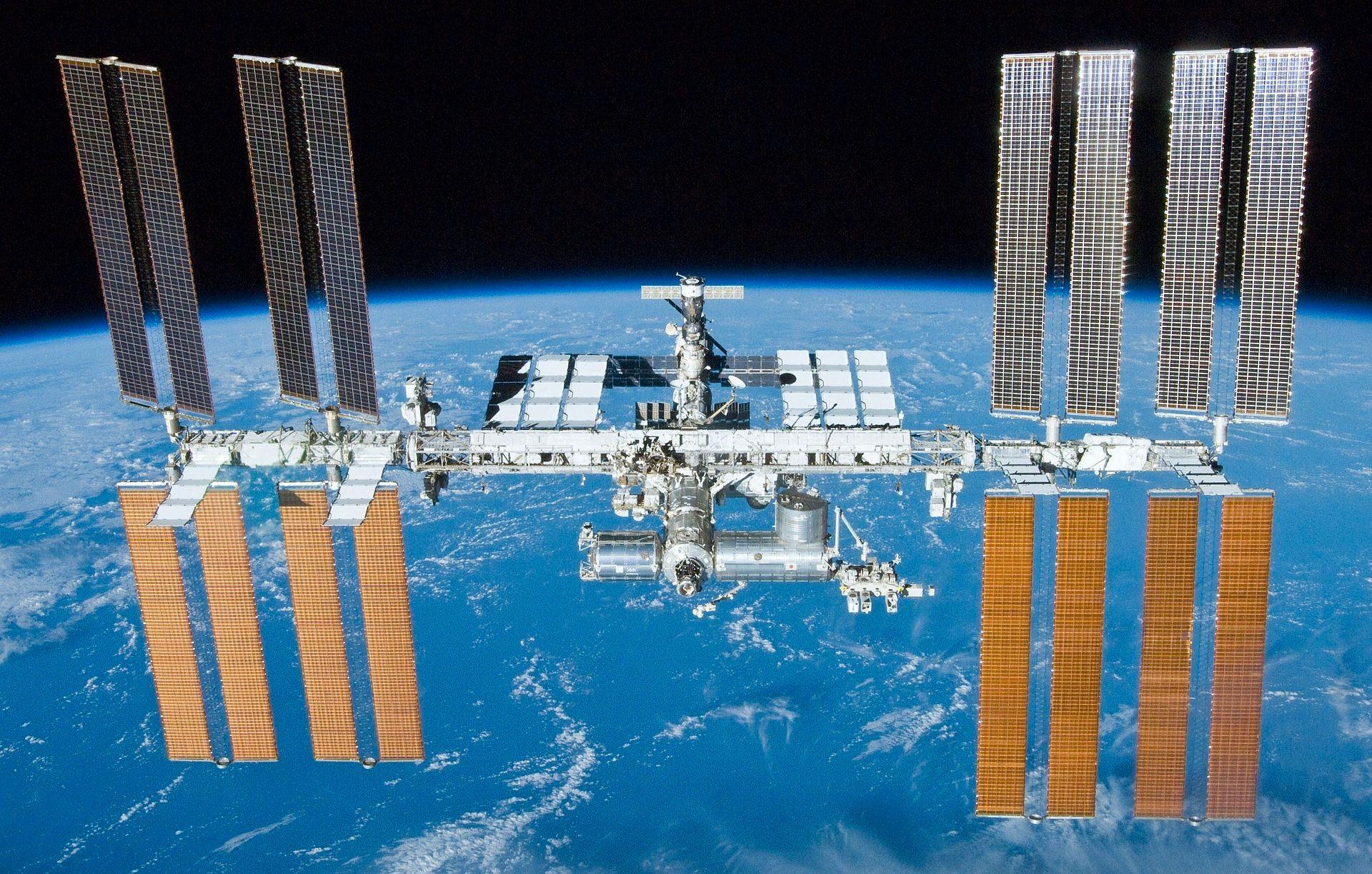 Den internasjonale romstasjonen, ISS. Foto: NASA