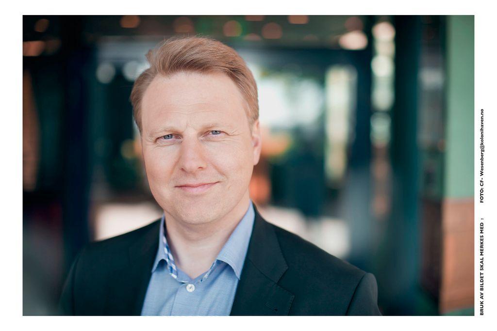 Trond Bentestuen, konserndirektør med ansvar for personmarkedet i DNB.Foto: DNB