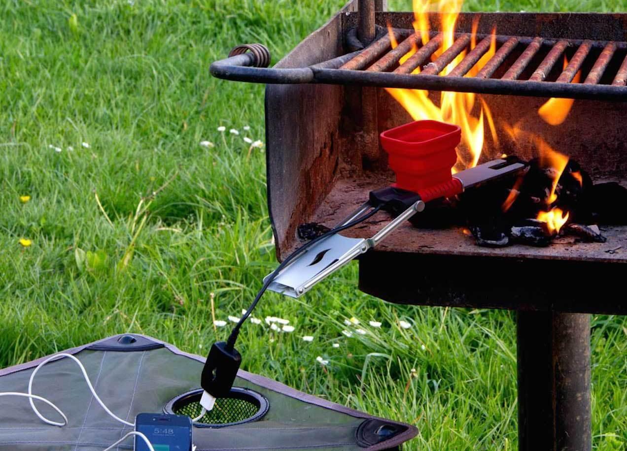Ja, dette er en USB-lader. Foto: FlameStower