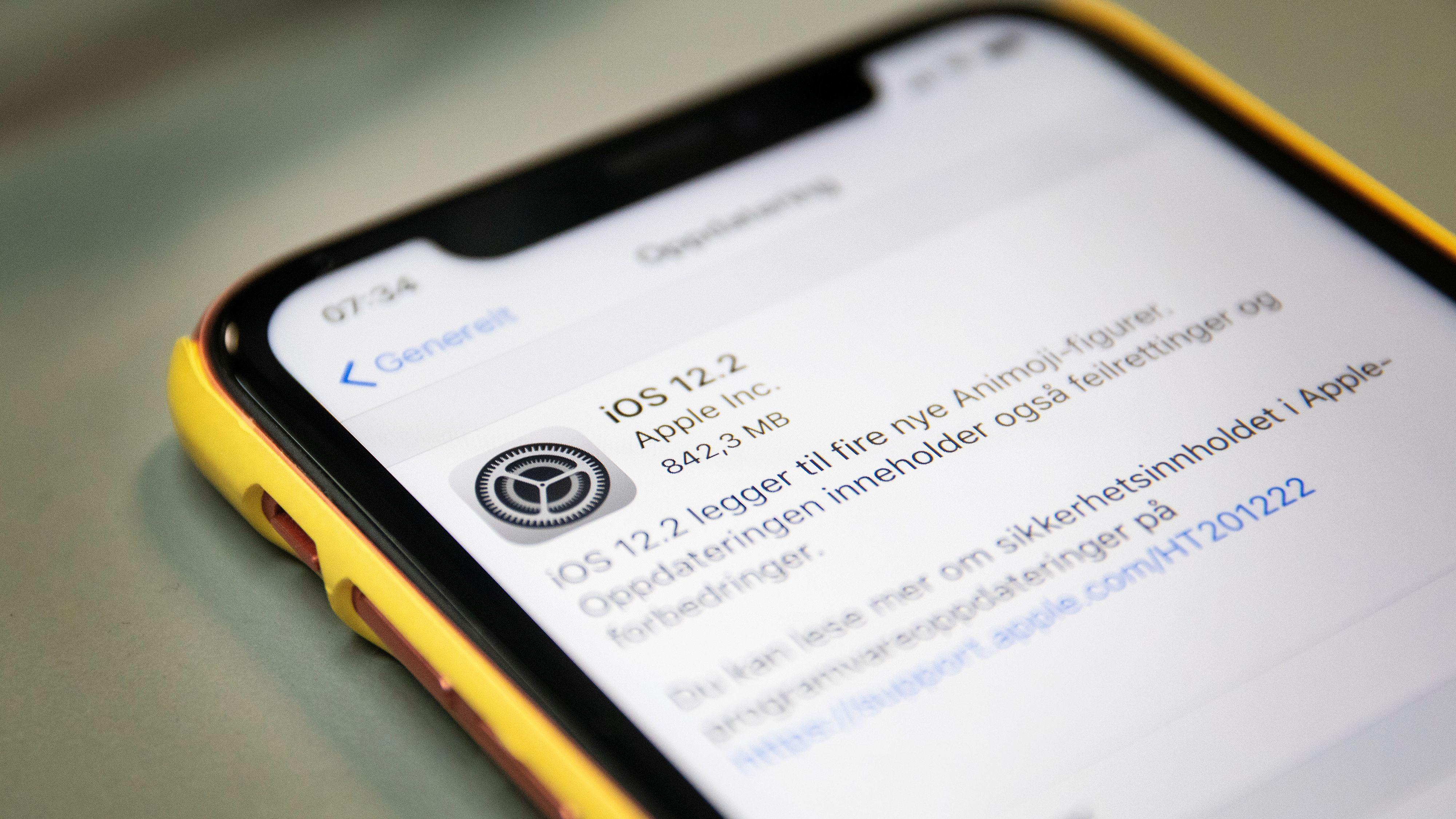 Nå kan du laste ned den nye iOS-oppdateringen