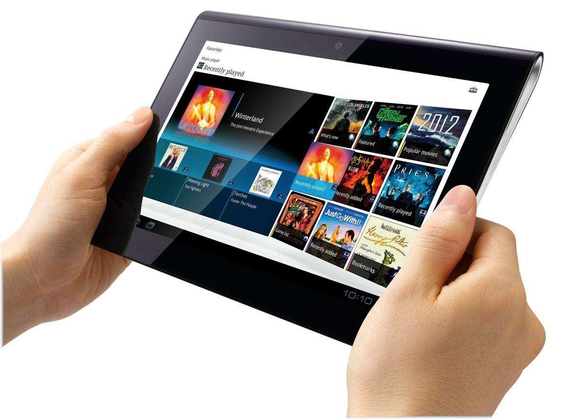 Sony Tablet S er utstyrt med en egen IR-sender, som gjør det mulig å styre TV-er og annet utstyr direkte.