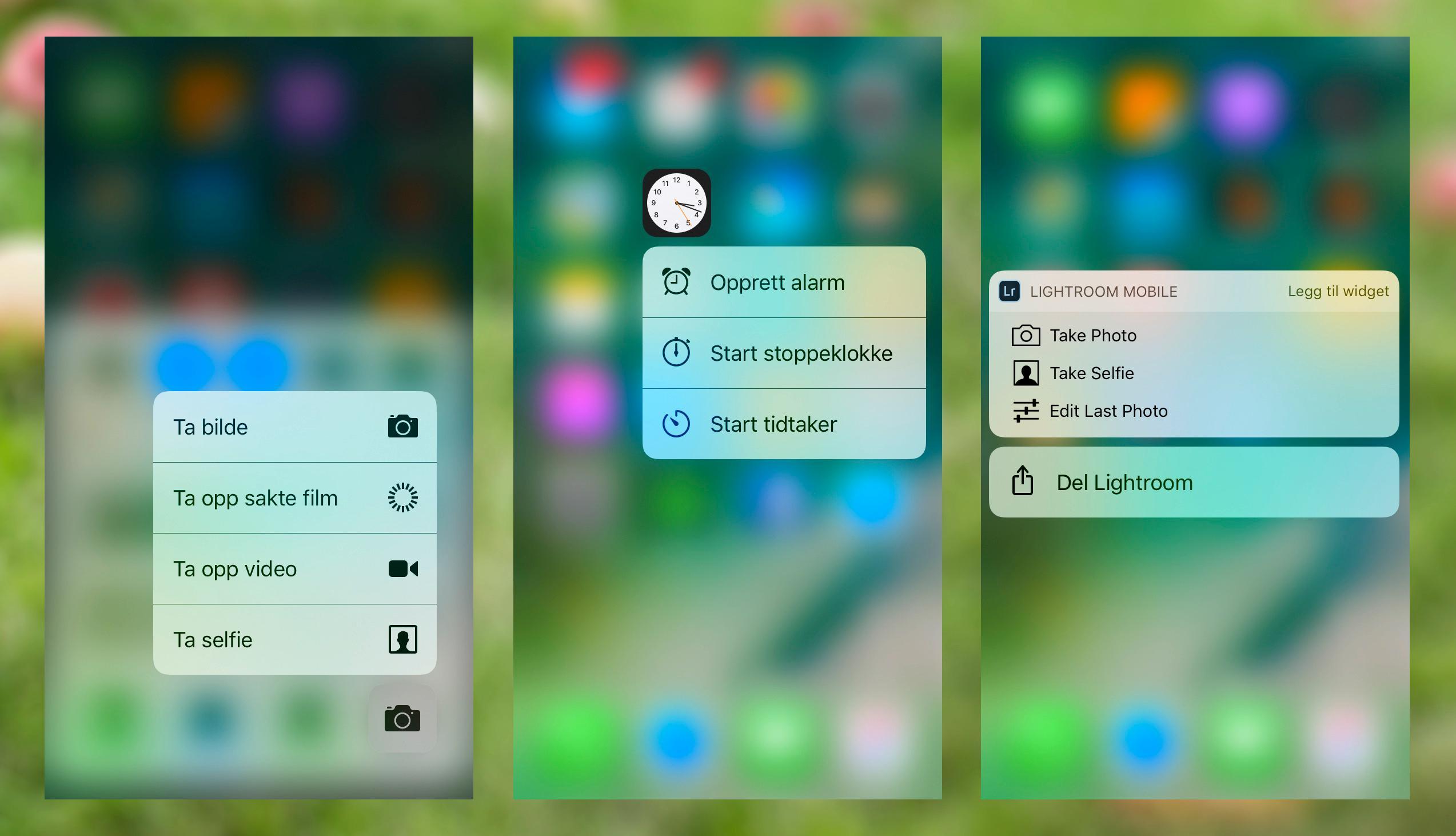 3D Touch gjennomsyrer stadig mer av iOS, og løsningen integreres også godt i tredjeparts apper.