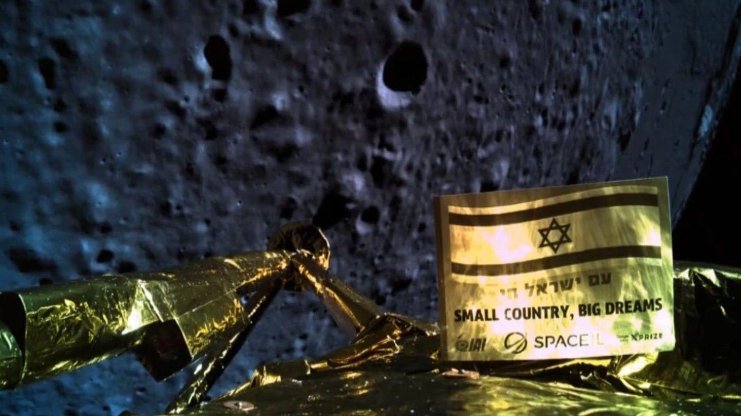 Lyktes ikke med månelandingen
