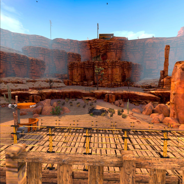 Ett av spillene som er oppdatert for Quest 2: Arizona Sunshine.