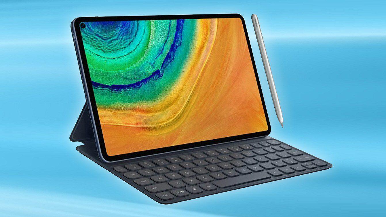 Den korte videoen fra Huawei bekrefter blant annet kikkehullskameraet vi ser på dette lekkede MatePad Pro-bildet.
