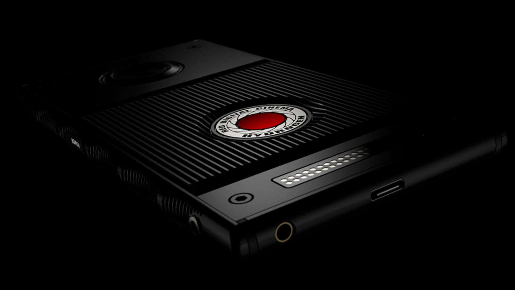 RED lager en svindyr mobil med holografisk skjerm