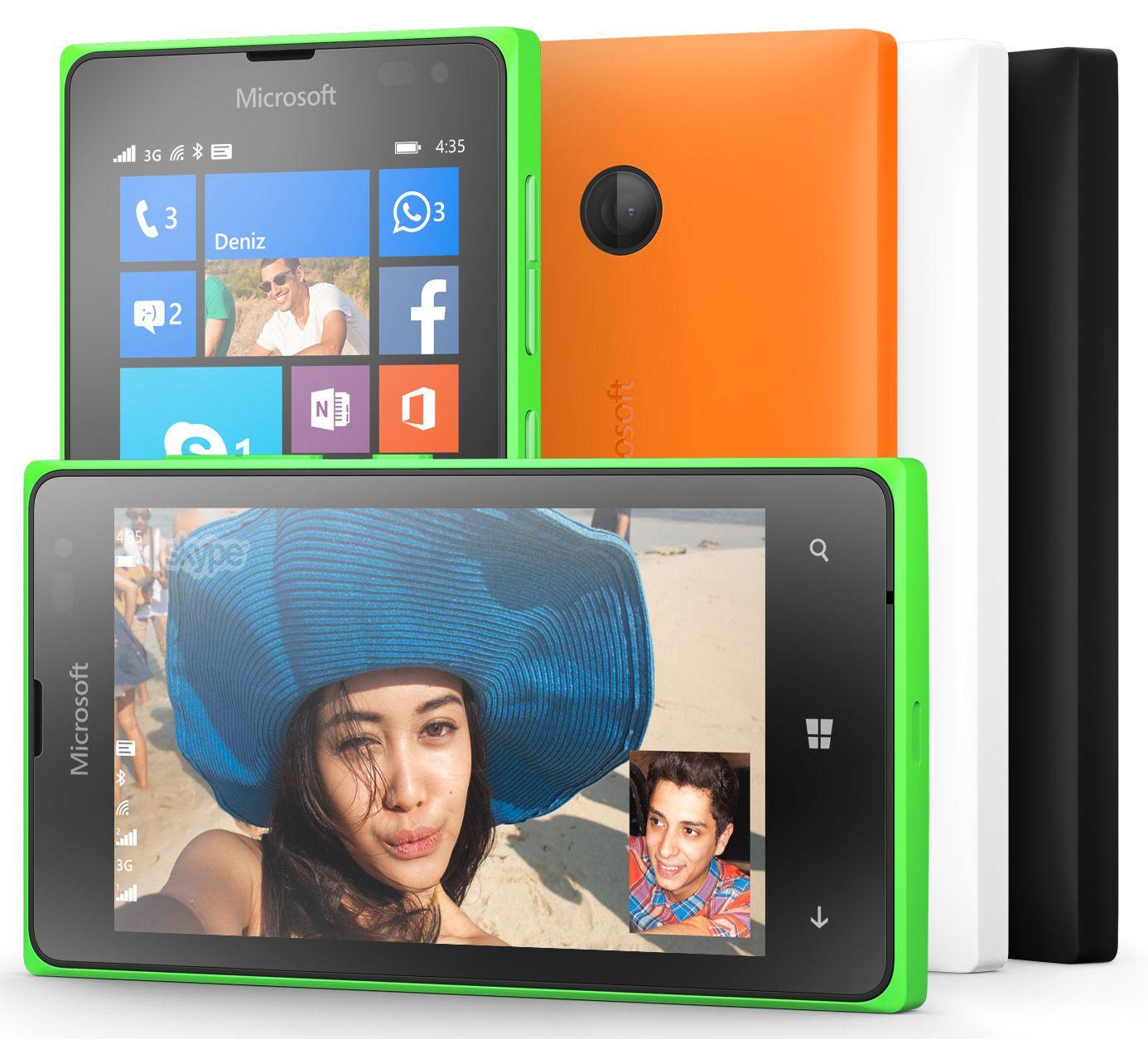 Microsoft Lumia 435. Foto: Microsoft