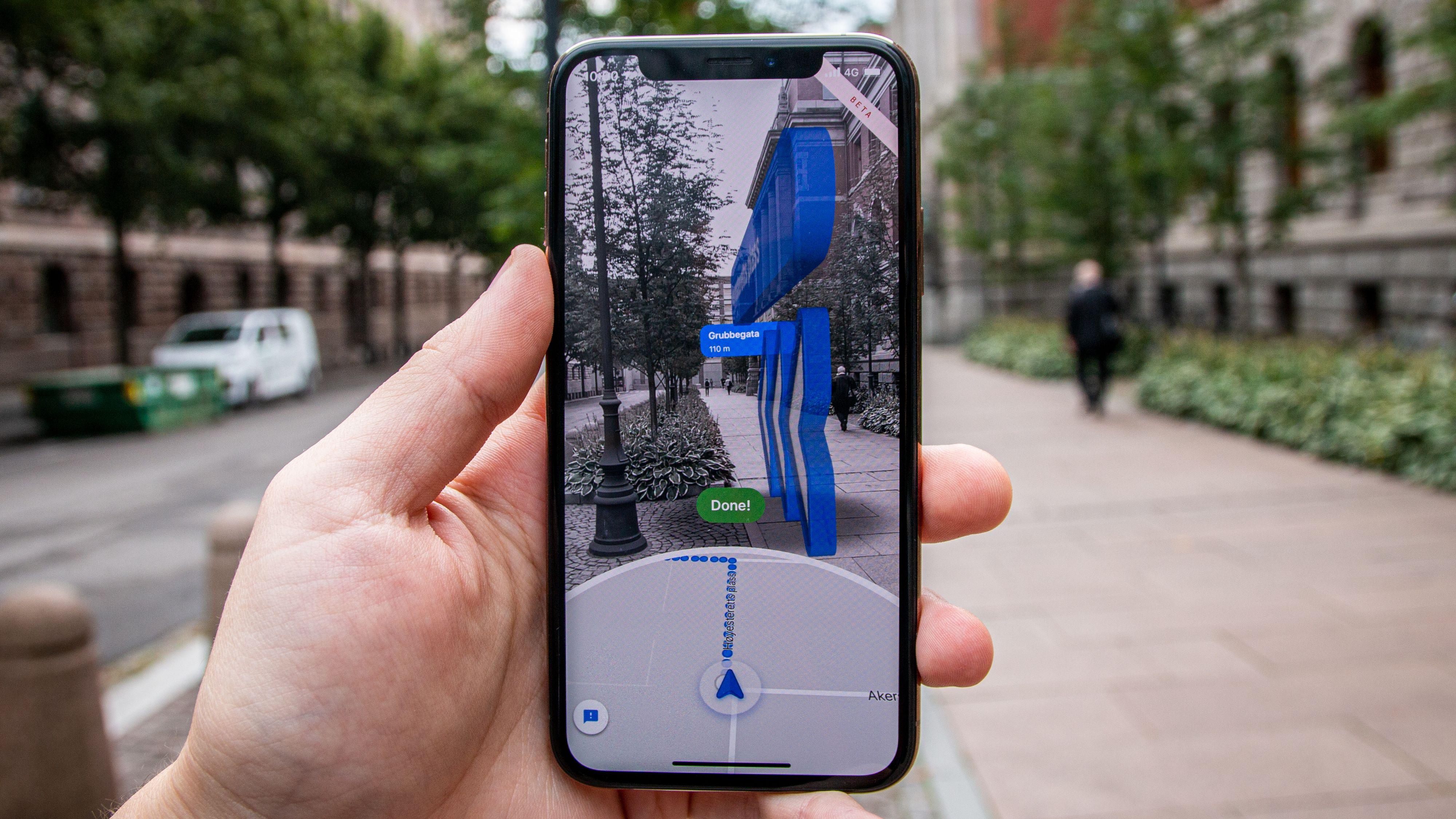 Endelig har Google Maps' smarte navigasjon kommet til Norge