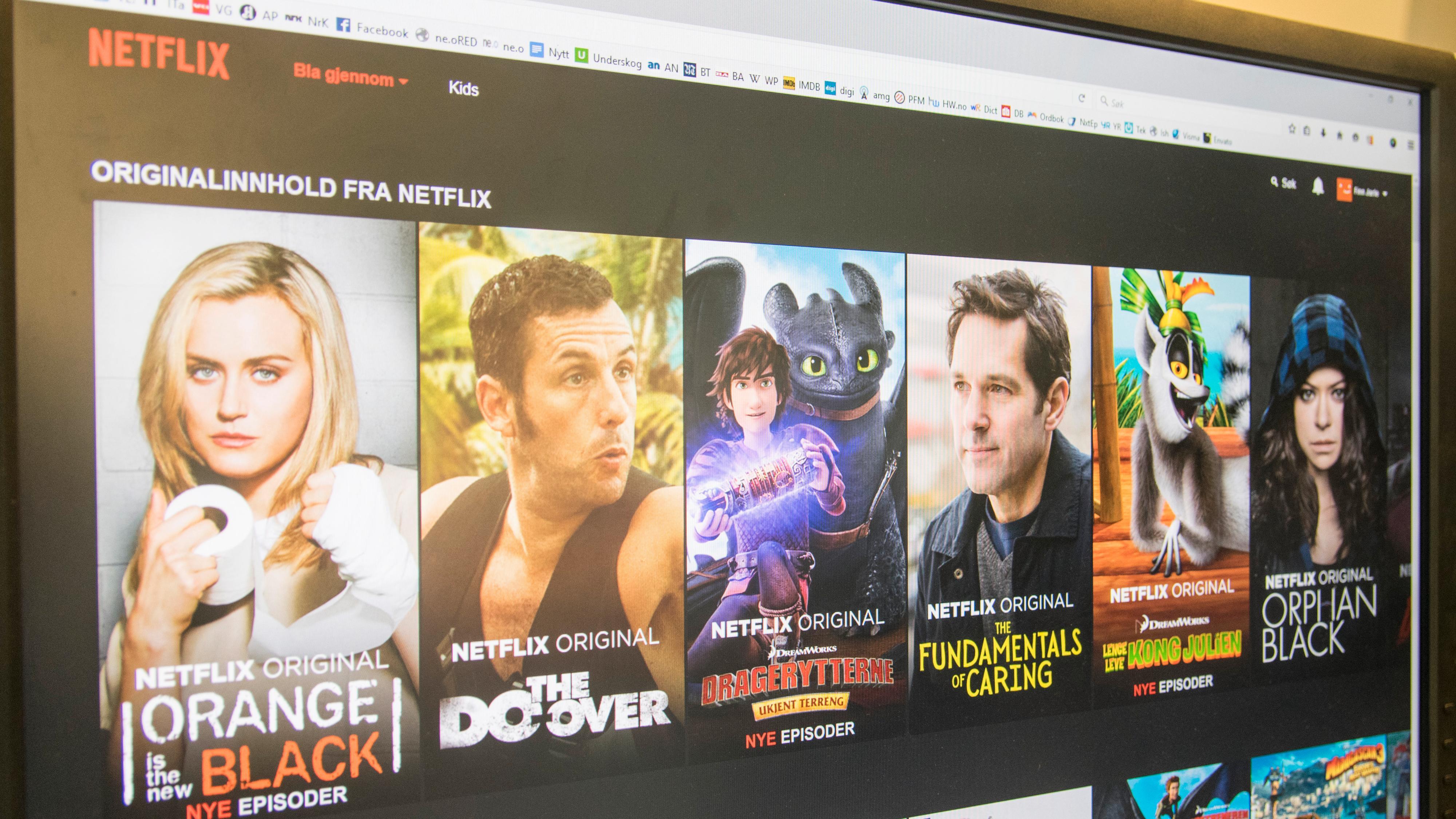 Foreslår P2P-nettverk for å gi global tilgang til Netflix-innholdet