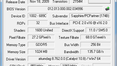 Oppdaterer GPU-Z