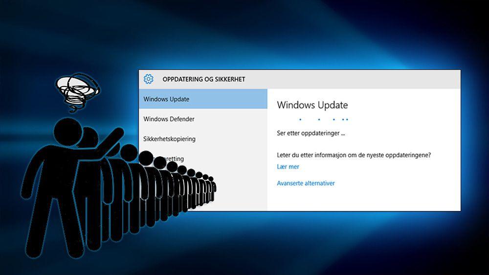 Slik sniker du deg fremst i Microsofts lange oppdateringskø