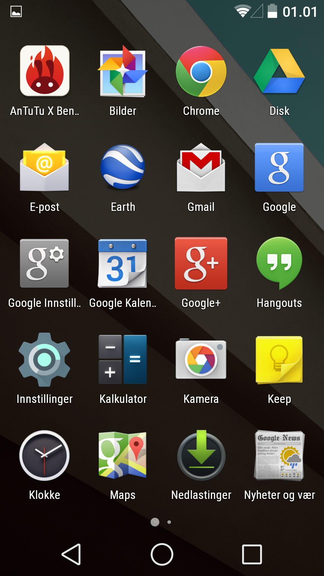 Selv om mange nye telefoner har skyhøy oppløsning, har antallet samtidige apper telefonen viser gått ned. Mer luft, rett og slett.
