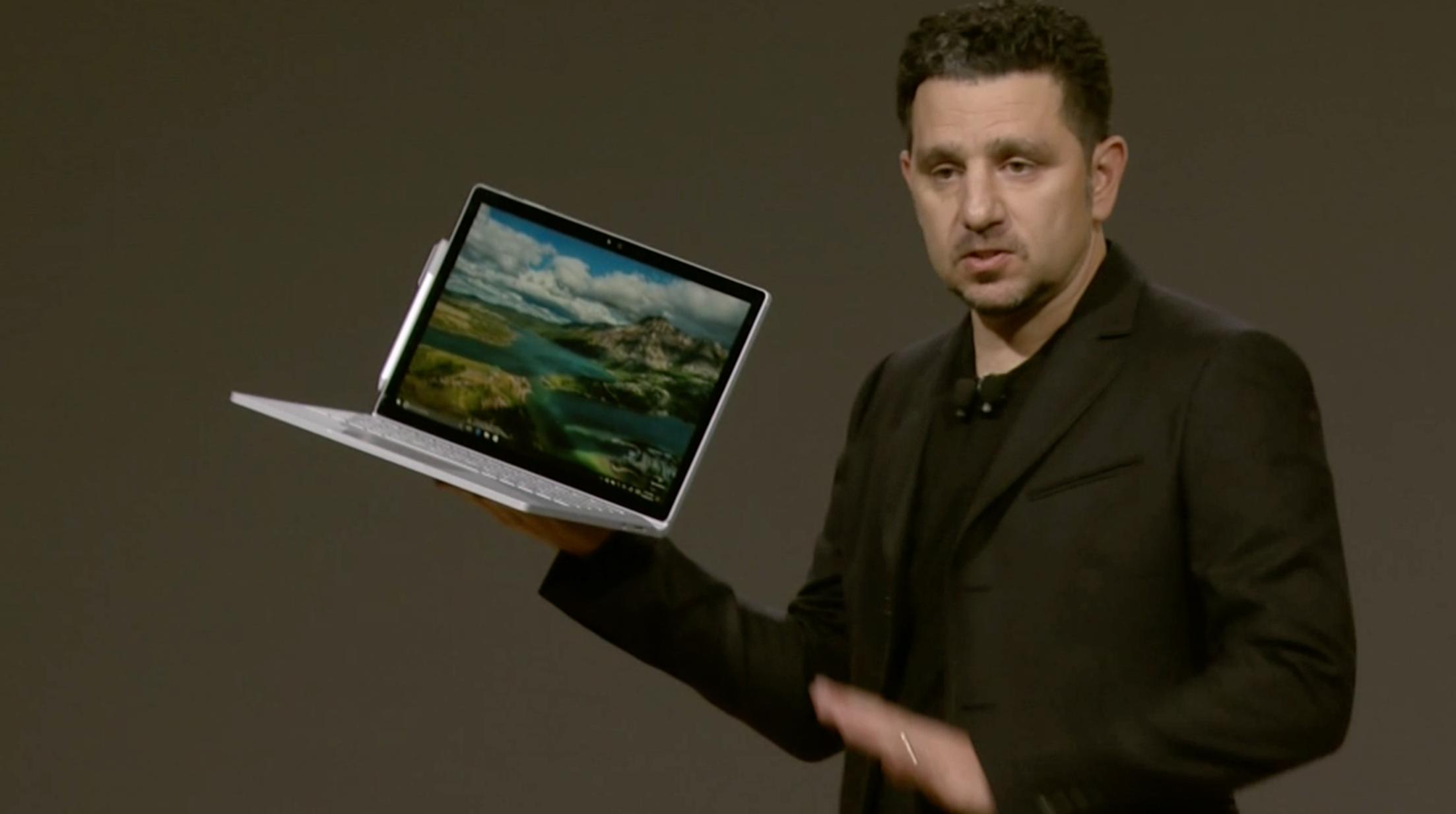 Nye Surface Book med Intel Core i7. Bilde: Stein Jarle Olsen, Tek.no