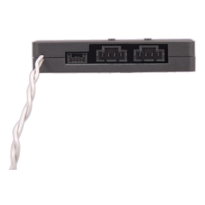 Kontaktside, node for belysning