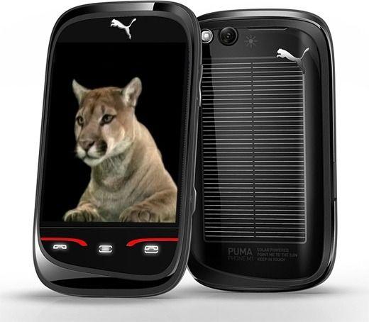 Puma Phone ble levert med en «on-demand digital cat». Hadde bare telefonen vært like kjapp som dyret den var oppkalt etter.Foto: Sagem/Puma
