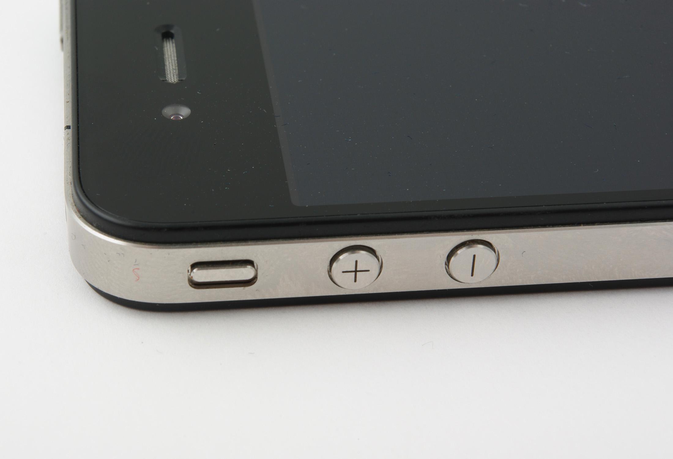 Her er punktet som skal kunne svekke dekningen på Iphone 4. Vi opplevde ikke store signaltap på vår testmodell.