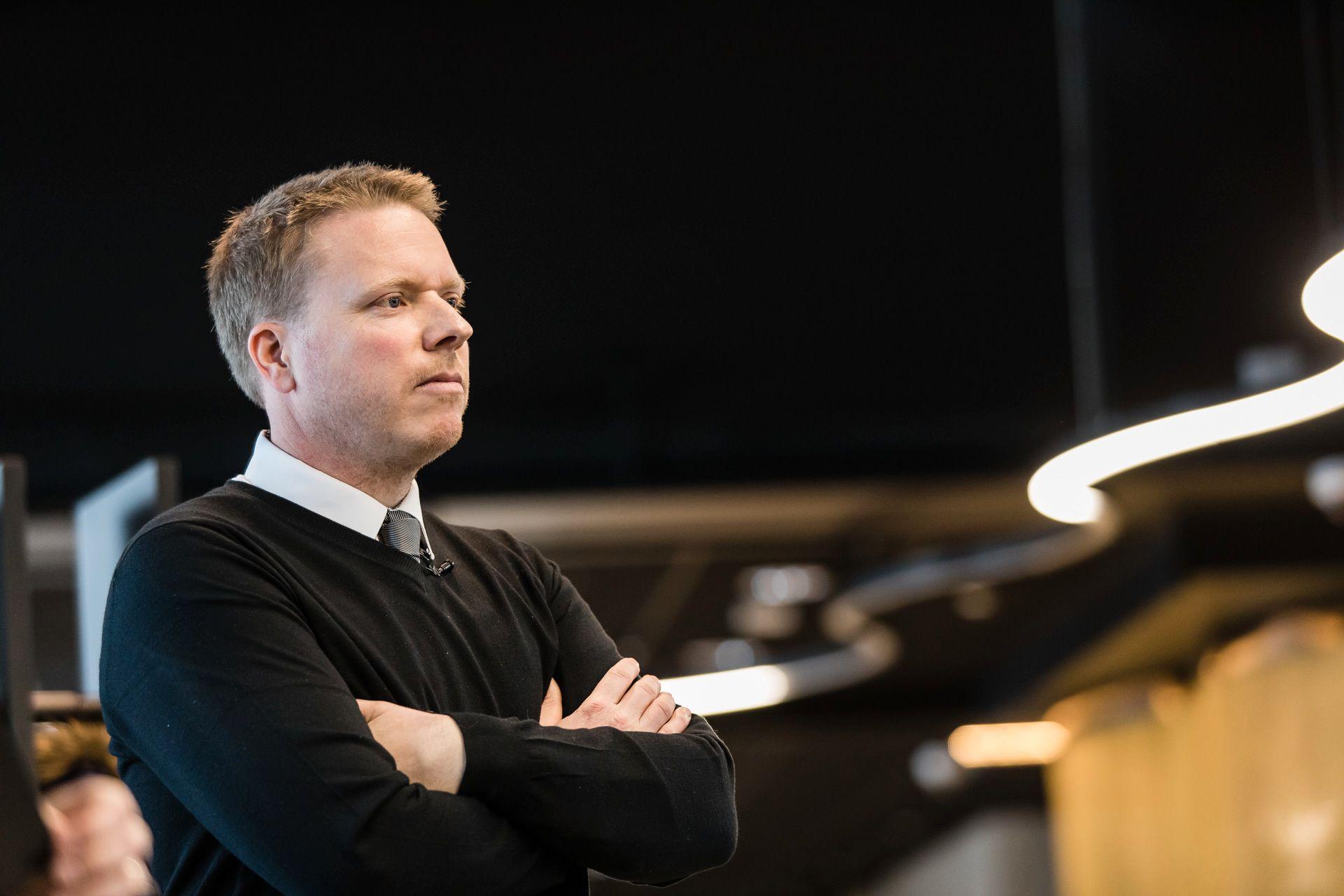 Ice-sjef Eivind Helgaker.