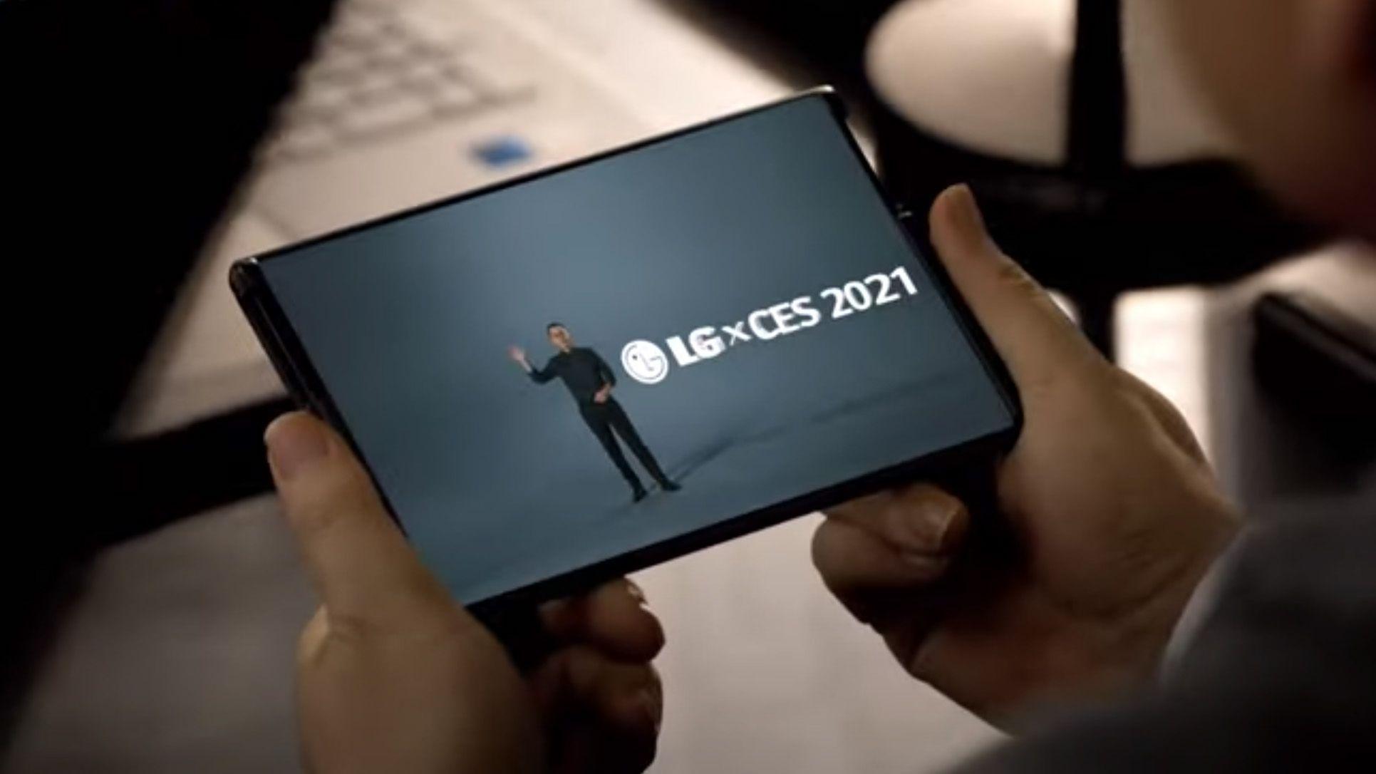 LGs Rollable-telefon vil tilsynelatende nesten kunne doble skjermarealet når du går fra telefon- til brettmodus.