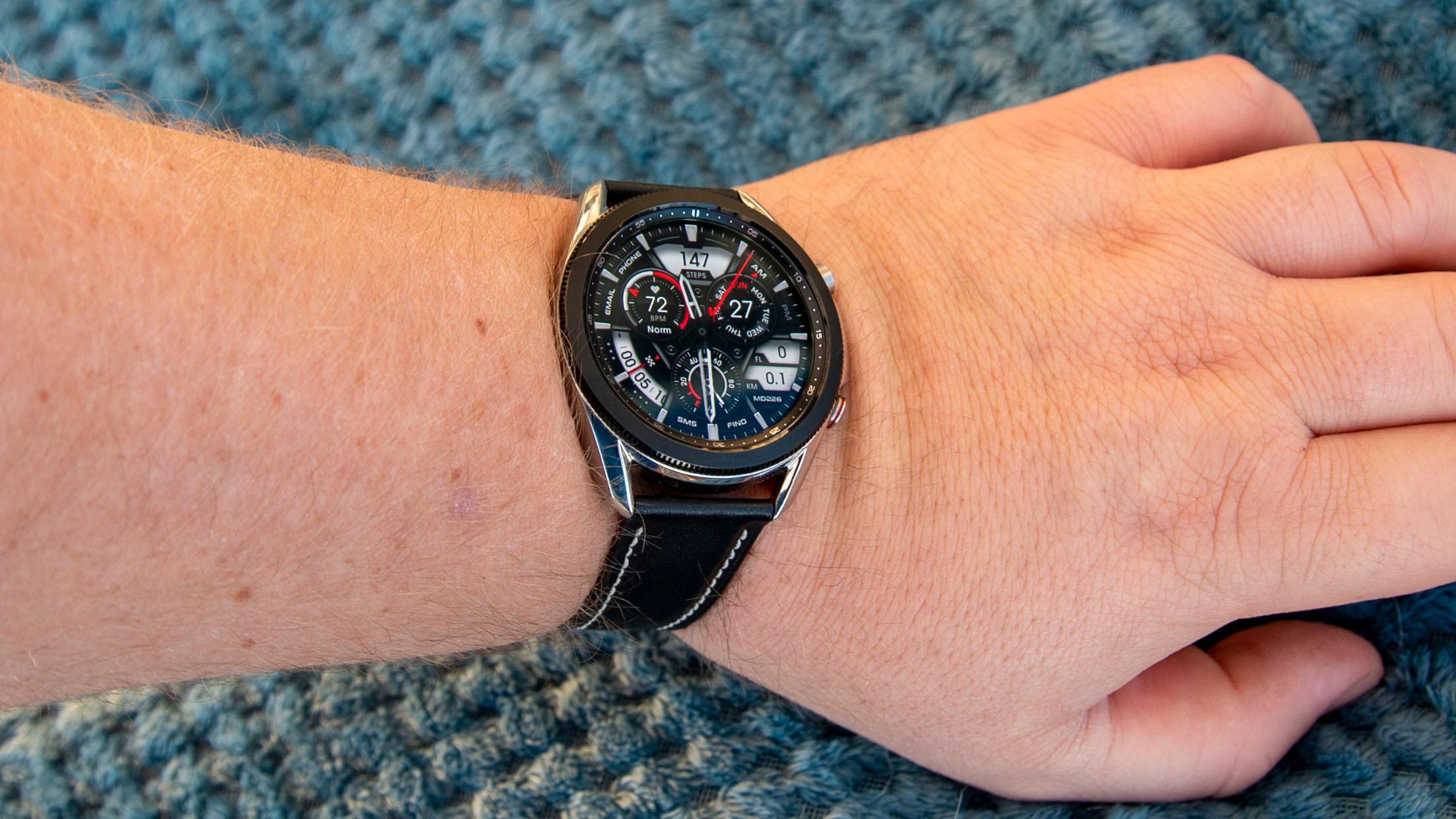 Vi ønsker Samsungs helseapp hjertelig velkommen til blant annet Galaxy Watch 3.