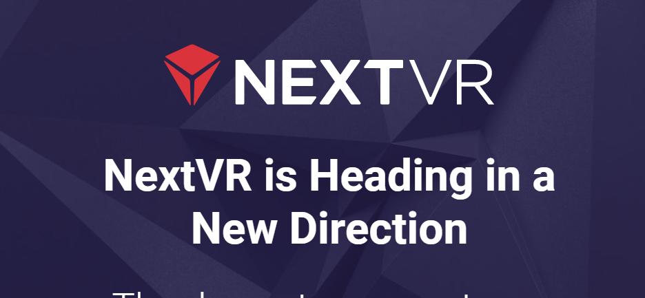 Dette er alt som nå står på NextVRs nettsider.