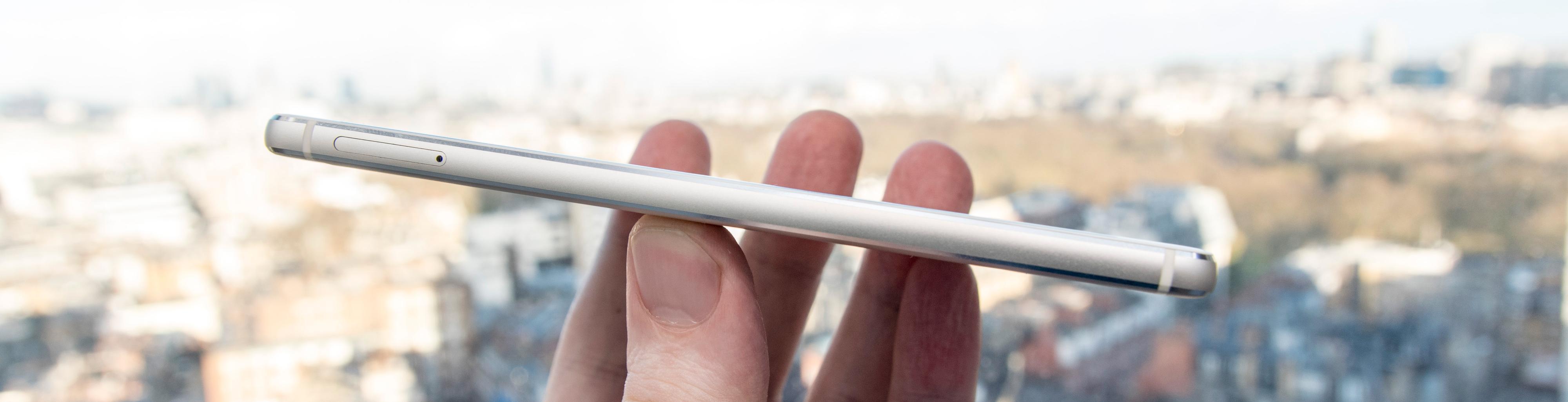 Noen slankere? Huawei P9 er (såvidt) under 7 millimeter tykk.