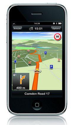 Mobil-GPS-en bruker litt datatrafikk på GSM-triangulering.