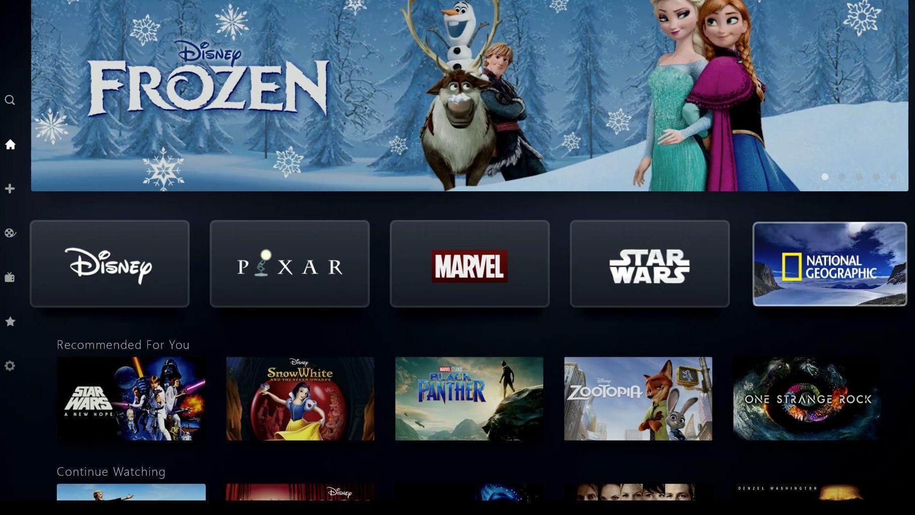Disney+ bikket akkurat 50 millioner betalende brukere