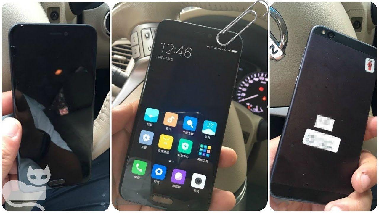 Dette kan være den «vanlige» Xiaomi Mi 6.