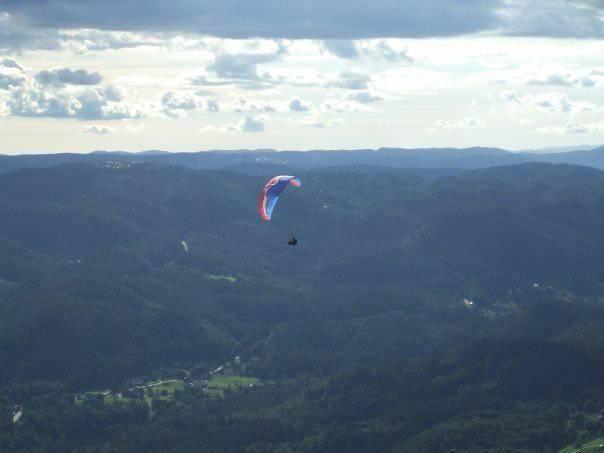 Paraglider ulykke
