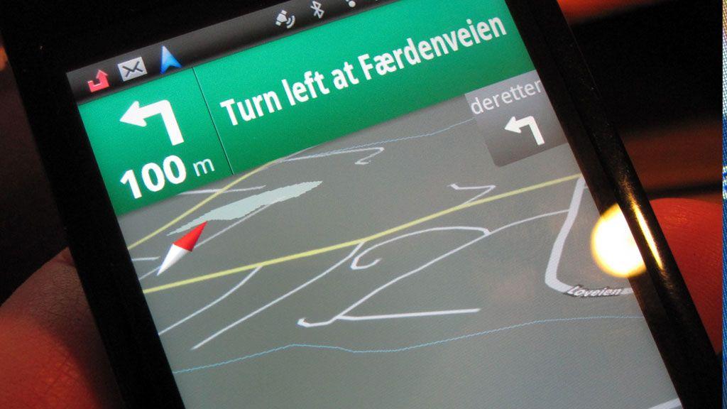 Brut gir navigasjon på Google.