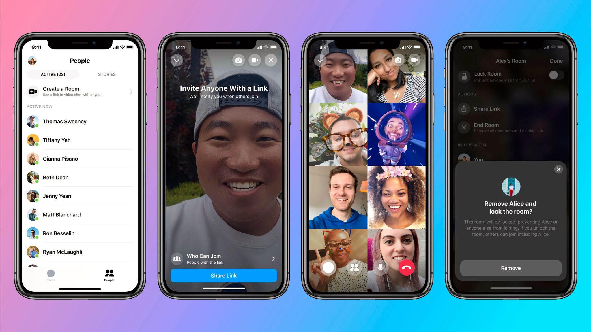 Facebook lanserer ny app for videokonferanser