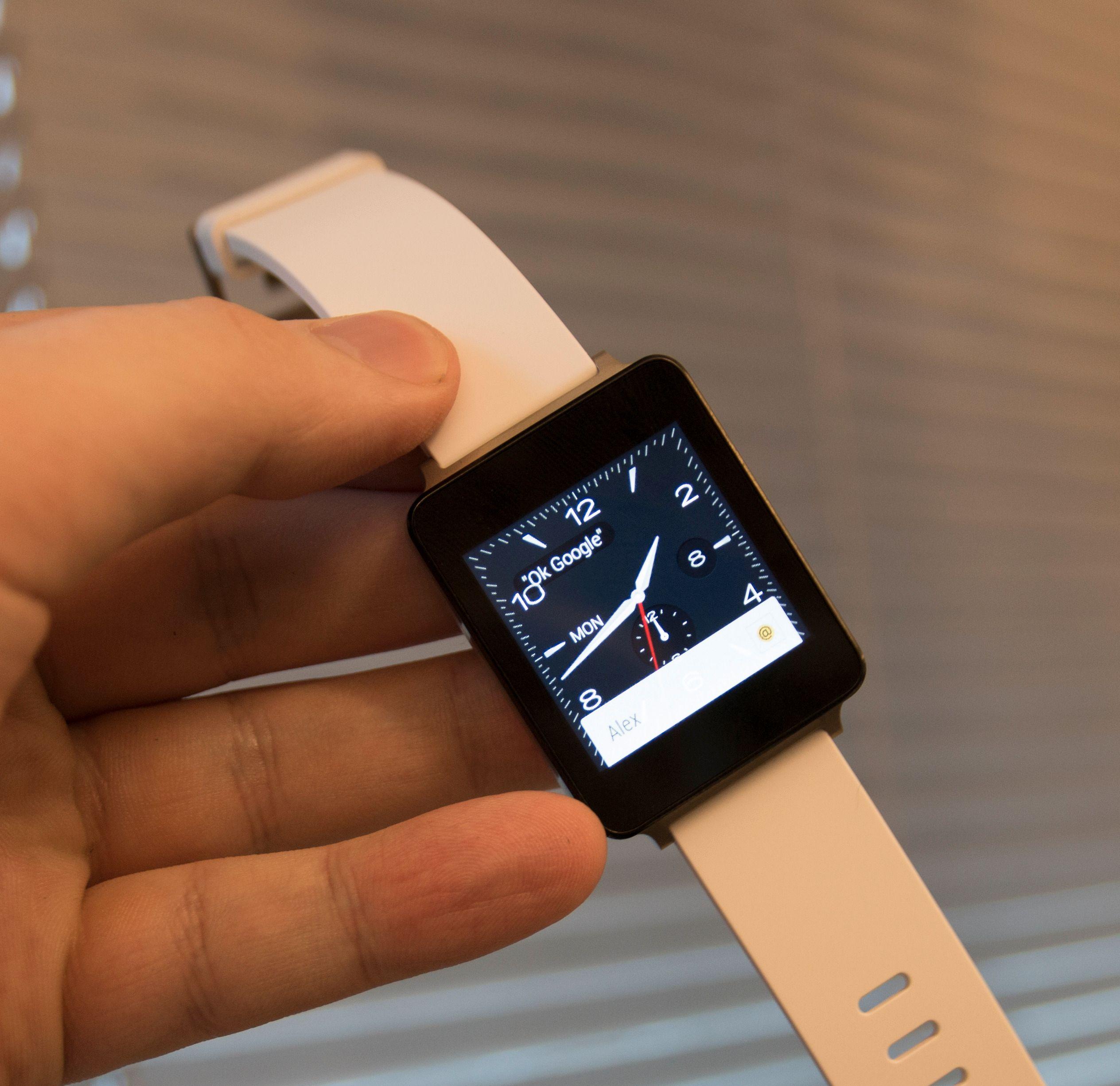 Varslinger i Android Wear foregår slik.Foto: Finn Jarle Kvalheim, Tek.no