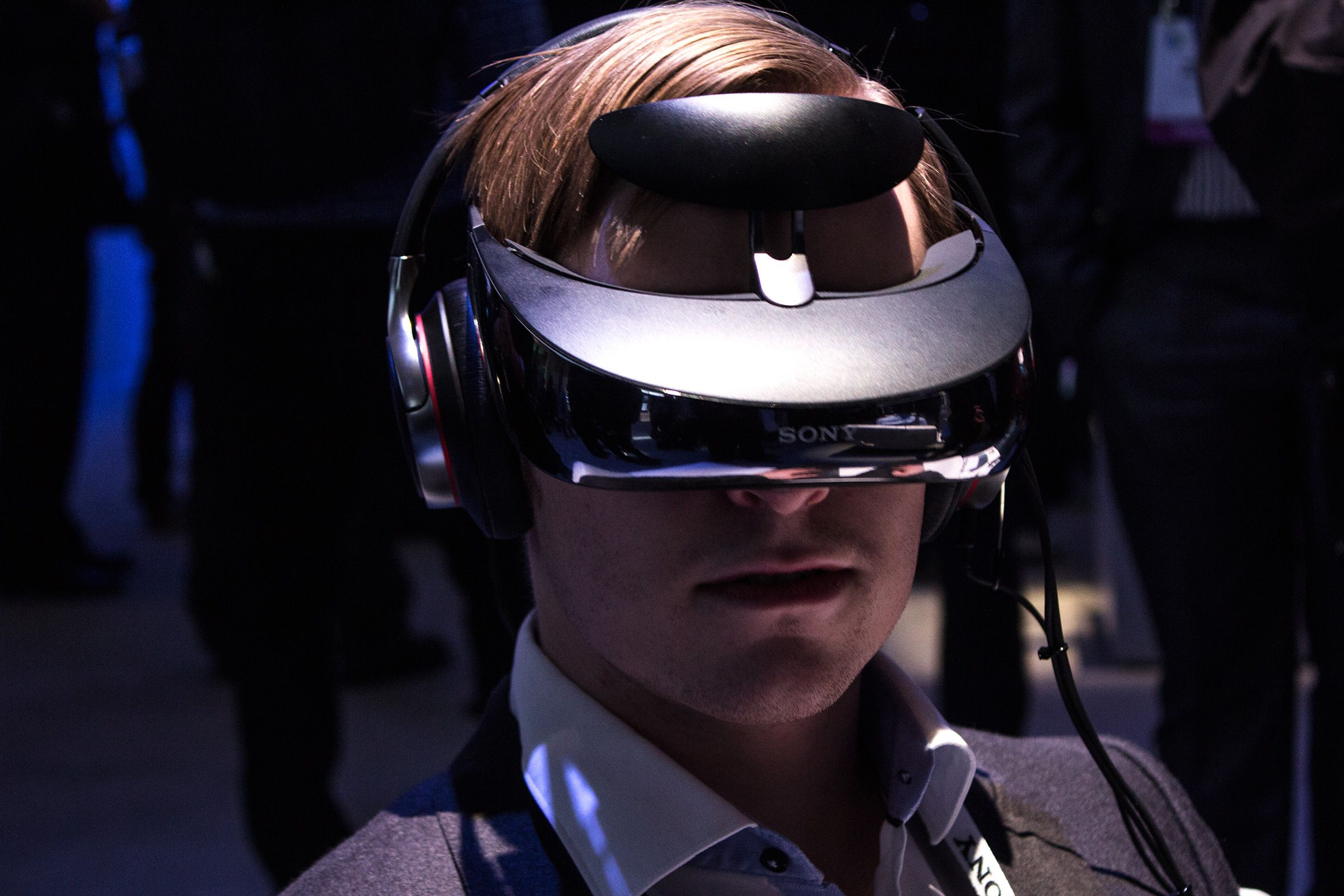 De nye VR-brillene er en videreutvikling av selskapets eksisterende 3D-briller, som vi fikk testet da vi besøkte CES i januar.Foto: Hardware.no