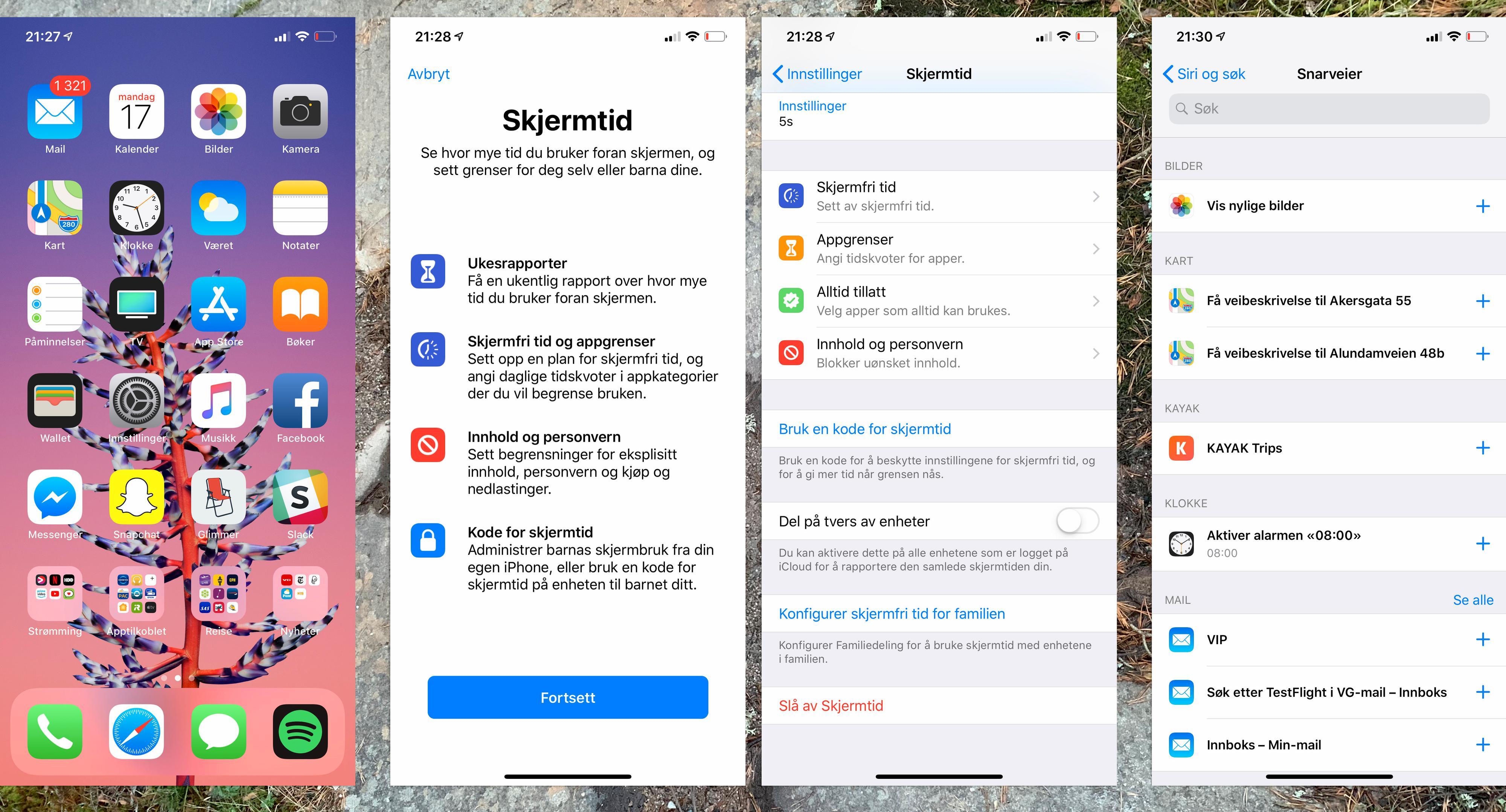 Mye er nytt og fint i iOS 12, men det meste er ved det gamle. Denne oppdateringen handlet mest om stabilitet, og der scorer den bra. Blant de nye funksjonene er tidsstyringsfunksjonen som hjelper deg å begrense mobilbruken, og Siri-snarveiene som lar deg legge inn funksjoner Siri vanligvis ikke håndterer.