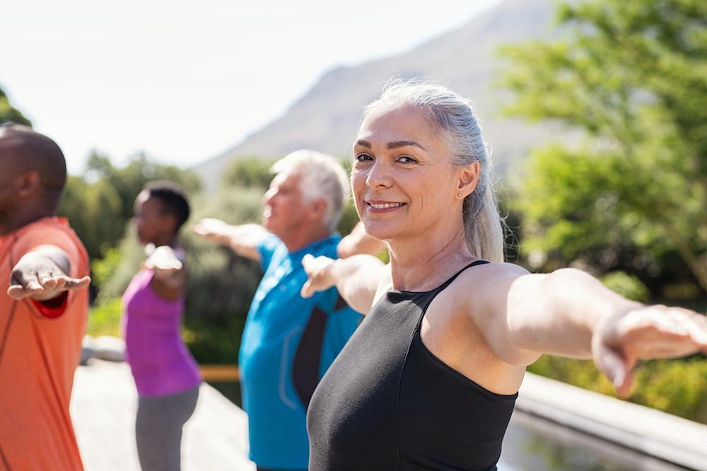 Yoga har många positiva effekter på kropp och sinne.
