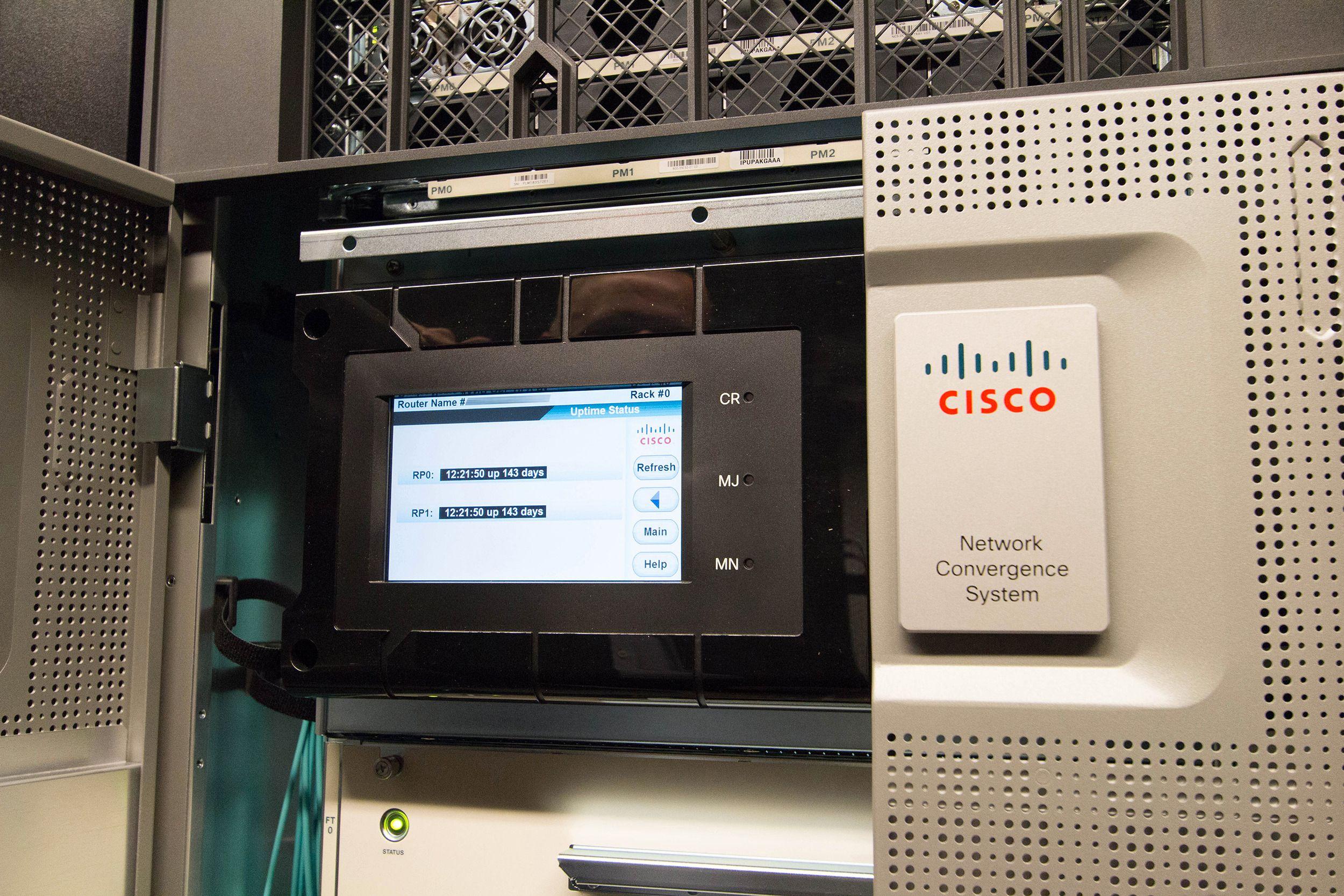 Cisco NCS 6000-ruteren.