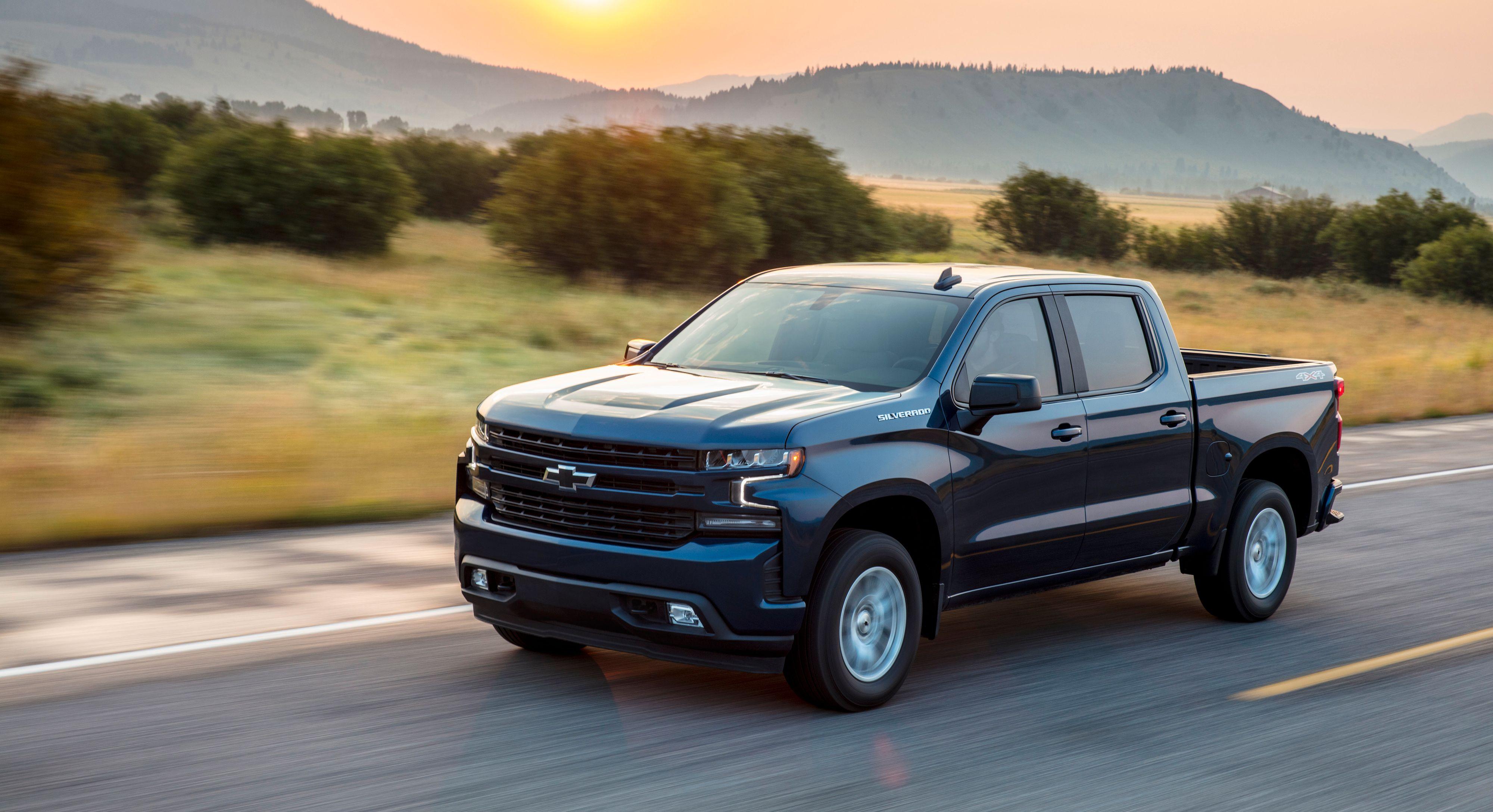 Chevrolet kommer med en pickup i «full størrelse». Det kan bli en variant av eller en konkurrent til Silverado (avbildet).