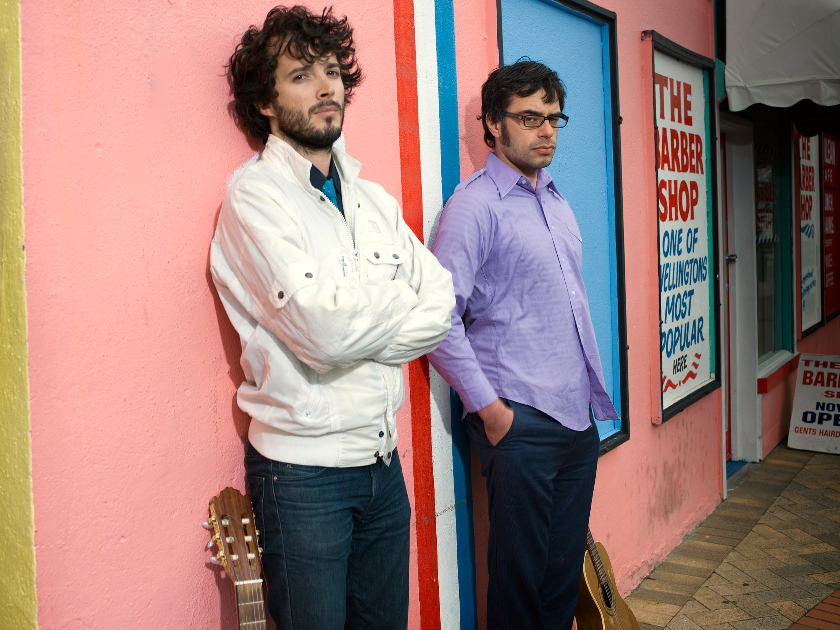 """Flight of the Conchords"" minner om ""The Office""."