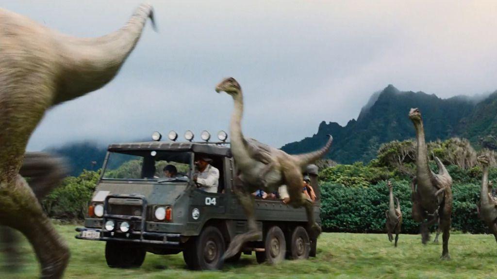 Se 10 sekunder av «Jurassic World»