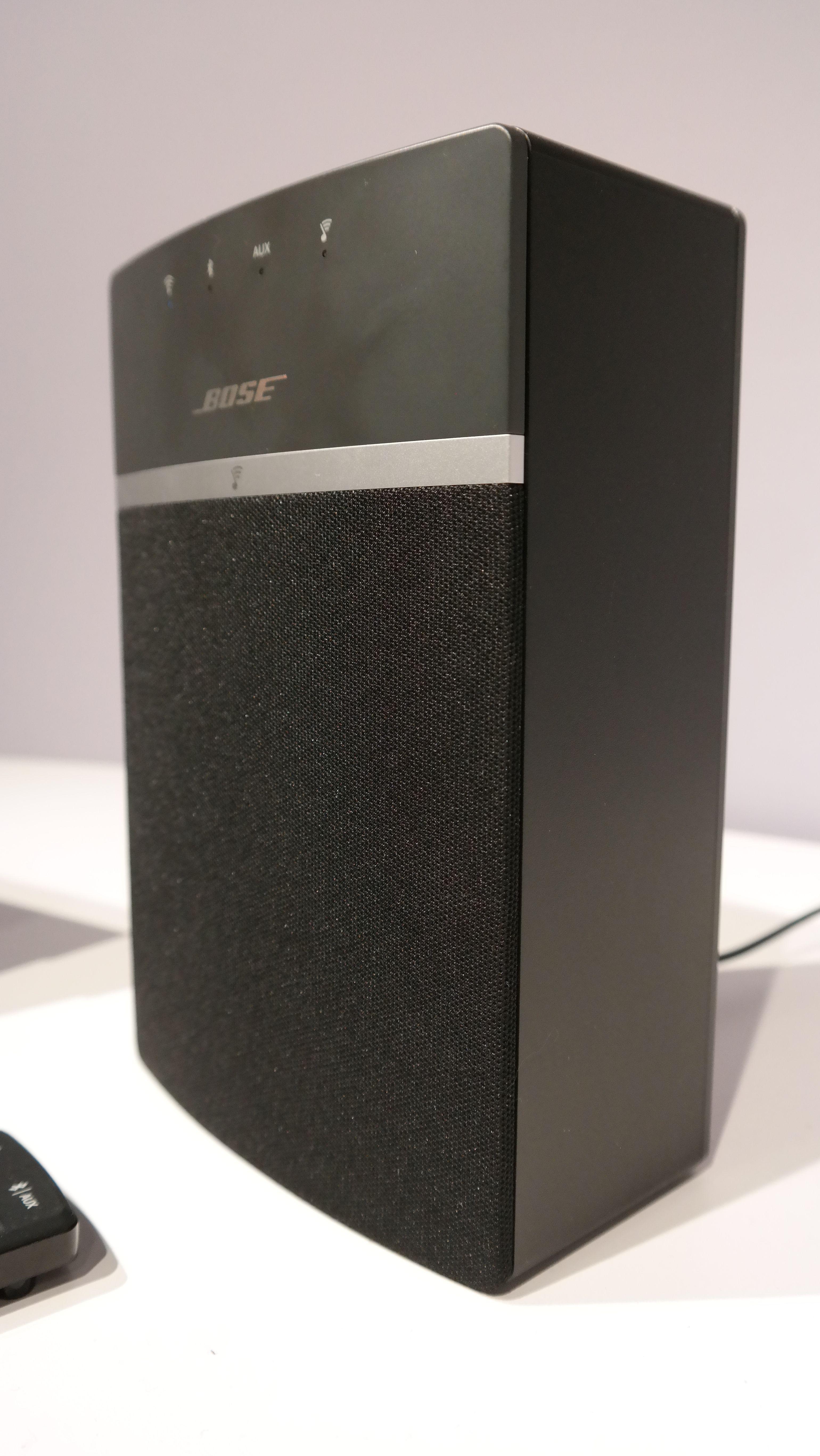 Høyttaleren finnes også i sort. Foto: Espen Irwing Swang, Tek.no